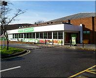 SS8591 : Asda supermarket, Maesteg by Jaggery