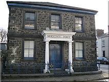 SH5638 : Masonic Hall by Alan Fryer
