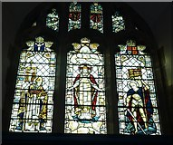 TQ4210 : St Thomas à Becket, Cliffe: stained glass windows (a) by Basher Eyre