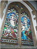 TQ4210 : St Thomas a Becket, Cliffe: stained glass windows (c) by Basher Eyre