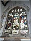 TQ4210 : St Thomas a Becket, Cliffe: stained glass windows (d) by Basher Eyre