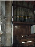 TQ4210 : St Thomas a Becket, Cliffe: organ by Basher Eyre
