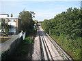 TQ2078 : District Line railway near Acton Green by Nigel Cox
