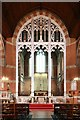 TQ3571 : All Saints, Trewsbury, Road, Sydenham - Screen by John Salmon