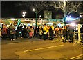 SJ9494 : Switching on the Christmas lights by Gerald England