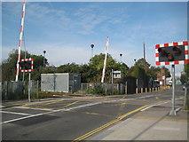 TQ1979 : South Acton: Bollo Lane level crossing by Nigel Cox