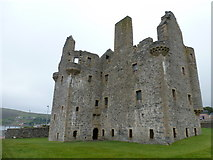 HU4039 : Scalloway: the castle by Chris Downer