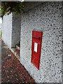 HU4641 : Lerwick: postbox № ZE1 42, North Road by Chris Downer