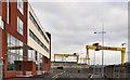 J3574 : The Belfast Metropolitan College (3) by Albert Bridge