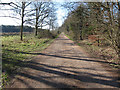 TL8491 : Restricted byway by Hugh Venables