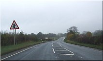 SE7485 : A170 heading west near Sinnington by JThomas
