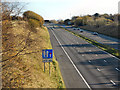 SJ9695 : Eastbound M67 by David Dixon