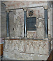 SO7137 : Skynner Memorial, Ledbury Church by Julian P Guffogg