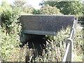 SP1767 : Henley Road bridges Tapster Brook: 1 by Robin Stott