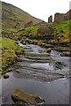 NY9301 : Gunnerside Beck at Blakethwaite Smelt Mill by Ian Taylor