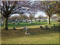 NZ4344 : Easington Colliery Cemetery by JThomas