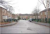 SE1527 : Wedgemoor Close - Wycoller Road by Betty Longbottom