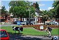 TG1908 : Five Ways Roundabout by N Chadwick