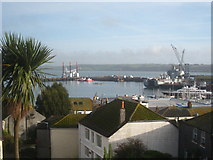 SW8132 : Falmouth Harbour viewed from Pike's Hill by Rod Allday