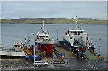HU4642 : Bressay ferry terminal by Robert W Watt