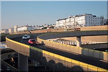 TQ3303 : Flyover into Brighton Marina by Oast House Archive