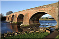 NY3768 : Longtown Bridge by Walter Baxter