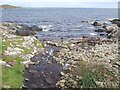 HU5141 : Bressay - Burn of Setter meets the sea by Rob Farrow