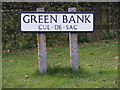 TM3978 : Green Bank Sign by Geographer