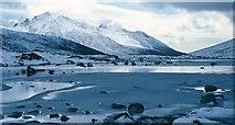 NR9545 : Loch na Davie in winter by Robert W Watt