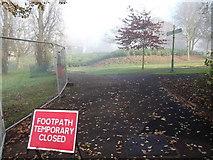TQ3473 : Green Chain Walk in Horniman Gardens by David Anstiss