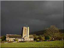 SD6382 : The sun shines on St Bartholomew's Church at Barbon by Karl and Ali