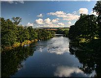 NY5046 : River Eden by Peter McDermott