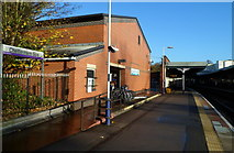 SO9322 : Cycle hire shop, Cheltenham Spa railway station by Jaggery