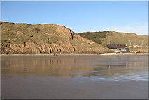 TA1281 : Pampletine cliffs, Filey by Pauline E