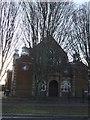 TQ2292 : Mill Hill School Chapel, The Ridgeway NW7 by Robin Sones