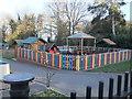 TQ2292 : Playground, St Paul's Primary School, The Ridgeway NW7 by Robin Sones
