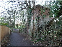 ST0207 : Remains of Middle Mill, Cullompton by Chris Allen