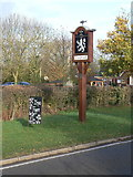 SK6117 : Seagrave village sign by Alan Murray-Rust