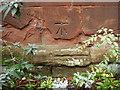 SO9574 : Catshill church, Ordnance Survey bolt by Shantavira