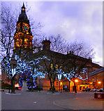 SD7109 : Bolton Town Hall, Victoria Square by David Dixon