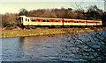J4298 : Railway causeway, Magheramorne by Albert Bridge
