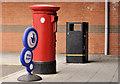 J4288 : Pillar box, Carrickfergus by Albert Bridge