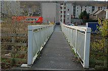NT4935 : Footbridge over the Gala Water by Jim Barton