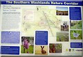 SE3522 : Southern Washlands Nature Corridor - Information by Mike Kirby
