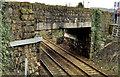 J4087 : Railway bridge, Clipperstown, Carrickfergus by Albert Bridge