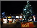 SZ0891 : Bournemouth: Christmas tree in The Square by Chris Downer