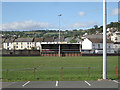SX9373 : Stand, Teignmouth RFC ground by Robin Stott