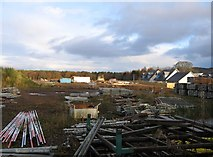 NH5041 : Site of the former Balgate Sawmill by Craig Wallace