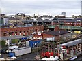 NZ2463 : Forth Banks Goods Yard & west end of Central Station by Andrew Curtis