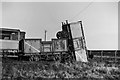 TQ7481 : At the end of the sidings, Thames Haven, 1961 by Robin Webster
